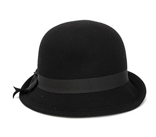Black England Small Hat Automne Féminin Été Version coréenne Lady Hat Dome Mode Casquettes ( couleur : D , taille : M ) A