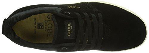 Globe Shinto, Chaussures de skateboard homme Noir (Black Antique)