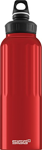 Sigg Wide Mouth Borraccia da viaggio 1,5 l, Rosso (Traveller Red), 1,5 l - Sigg Accessori