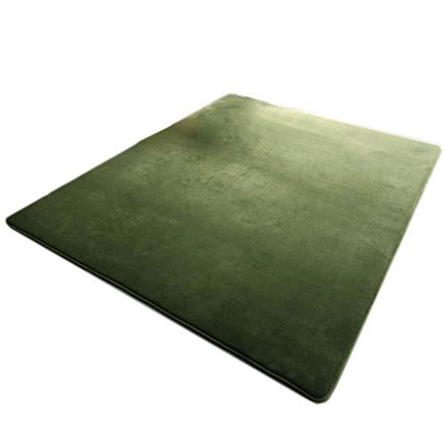 Tapis et moquettes Tapis de tapis tapis de loisirs tapis de loisirs tapis de yoga tapis de vie salon chambre tapis épais tapis de jeu vert tapis de flanelle épais tapis de taille multifonctionnel tail