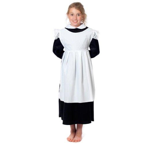 (Schürze oder Kittel Kostüm für Mädchen.)