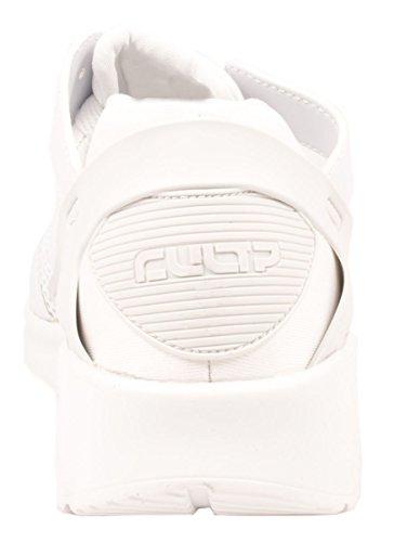 Elara Herren Sneaker | Trendy Fitness Sportschuhe | Turnschuhe Schnürer Weiß