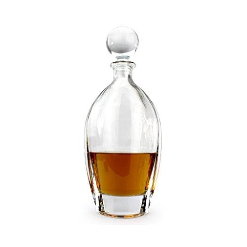 A.P. Donovan - Whiskykaraffe/Dekanter für Whiskeykenner - aus bleifreiem Glas, edles Schmuckstück (Geschenk) mit Verschluss - 700ml - Opulus