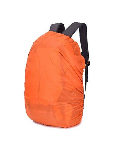 ZQ 0 L Rucksackabdeckungen Camping & Wandern / Klettern Draußen Wasserdicht Grün / Orange Nylon TANLUXIANFENG Green