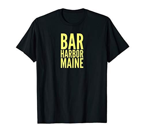 Harbor Island (Bar Harbor Mount Desert Island Maine USA T-Shirt)