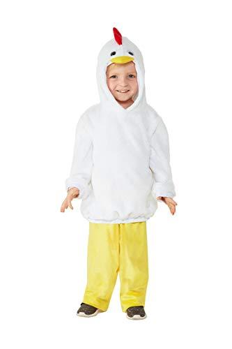 Huhn Kostüm Für Kleinkind - Smiffys 47711T1 Kleinkind Huhn Kostüm Unisex