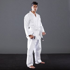 Blitz Sport adulti policotone Studente Karate vestito bianco 8/210cm