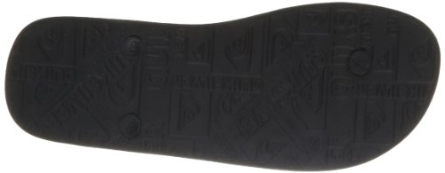 Quiksilver MOLOKAICOMPWORD M SNDL XKSK EQYL100019-XKSK Herren Dusch- & Badeschuhe Grau (BLAK/GREY/BLACK)