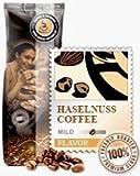 Aroma-Kaffee Haselnuss 1000g Bohnen
