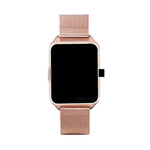 Tree-on-Life Z60 Smart Watch Kamera Unterstützung SIM/TF Karte Edelstahl Armband Schrittzähler Sport Armbanduhr Sport Mp4 Watch Player