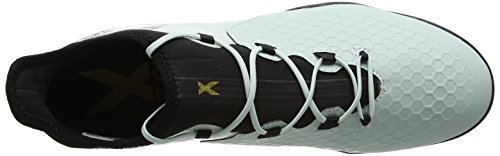 adidas Herren X 16.2 Cage Fußballschuhe Grün (Vapour Green F16/Core Black/Core Black)