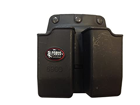 Holsters FOBUS BLT DBL MAG POUCH 9/40 GLOCK