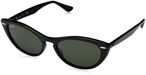 Ray-ban 0rb4314n occhiali da sole, nero (black), 53 donna