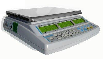 Balance poids-prix ohne Ticket 15kg x 5g–Balance für Handel oder Markt mit Zulassung (Bild Grüne von 2Jahren) - 3