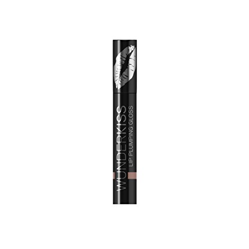 WUNDER2 Wunderkiss Brillo Voluminizador de Labios Aumento Labial Instante, Color Nude - 4 ml