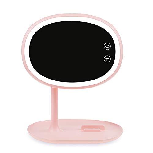 Luce girevole ricaricabile del lato del touch screen led di 180 gradi di singolo specchio laterale dello specchio di trucco di spaire per trucco del controsoffitto