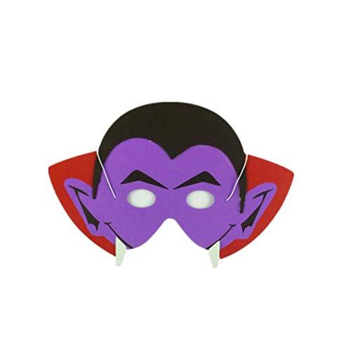 Horror Eva-Schaum-Karikatur-Masken-Cosplay Kostüm-Partei-Maske begünstigt Dress-up Kostüm für Partei (D) ()