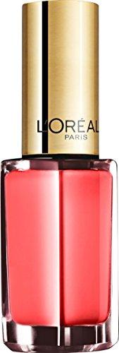 L\'Oréal Paris Color Riche Le Vernis Nagellack in Korallrot/Glänzender Farblack in sommerlichem Hellrot mit integriertem Überlack/503 Pin Up Pink/1 x 5ml