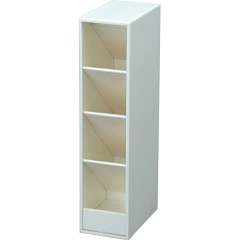 Curl Tower Pen Stand - White