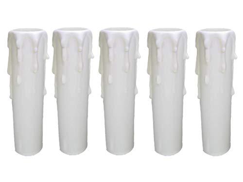 Culot E14 douille ~ Douille de bougie 85 mm plastique blanc