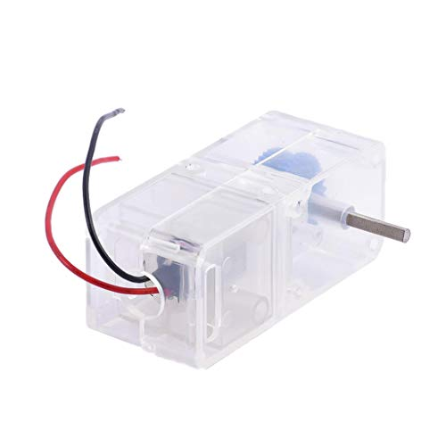 perfk DC Motor 1.5-4.5V 1:94 Mini Untersetzungsgetriebe Getriebemotor für Modellauto Roboter