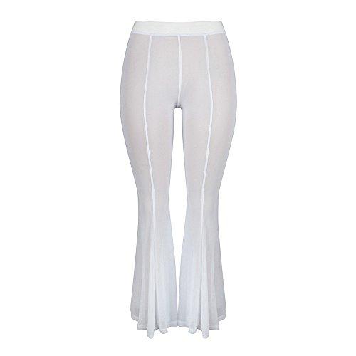 YWLINK Damen Kleidung,Mode Frauen Strand Mesh Schier Bikini -