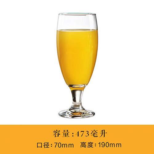 Phdp bicchiere trasparente per bevande senza piombo/succo di frutta/birra/cocktail/latte/acqua