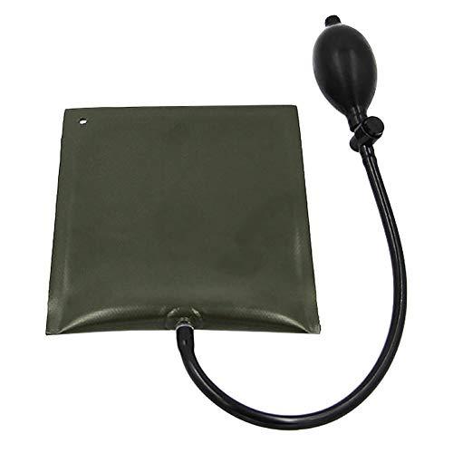 Zaote Justierbare quadratische Dicke Silikon-Airbag-aufblasbare Unterlegscheibe mit Luft gepolstert und Werkzeuge für die Türfenstermontage (Quadratische Aufblasbare)
