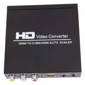 HDMI to CVBS+HDMI Auto Scaler Video Converter