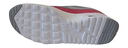Nike WMNS Air Max Thea Premium, Donna sneaker collo basso metallizzato platino grigio lupo bianco hyper 016