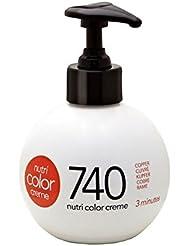Nutri color crème Revlon 740 Cuivré Roux Irlandais 250ml
