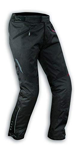 A-Pro Damenhose Wasserdichte Motorrad Hose Thermal Abnehmbarer Polsterung Schwarz 26 -