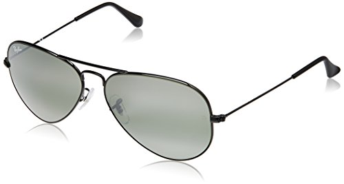 Ray-Ban Aviator Sunglasses (Black) (RB3025|002/3758)