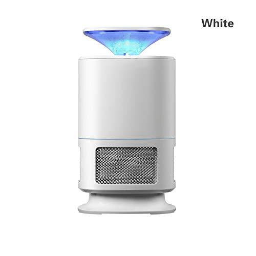 Moskito-Lampe SHUAKFDLed Moskito-Mörder-Lampe Insekten-Mörder-Anti-Moskito-Lampe New Inhalation Moskito-Mörder-Lampe USB-Miniaturlampe Strahlungsfreie LED-SchädlingsbekämpfungWeiß