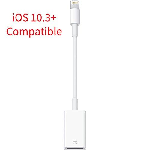 8 Wege Vga Splitter (mycs Lightning OTG Kabel Stecker 8Pin auf USB Buchse Adapter können für Apple iPhone und iPad. Unterstützt IOS Version 10.3und vor)