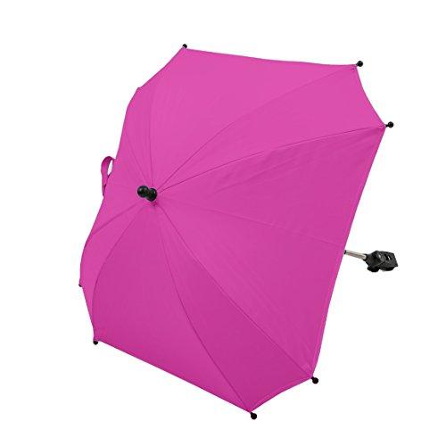 AltaBeBe Universel Ombrelle Anti Soleil pour Poussette Anti-UV 50+ Rose