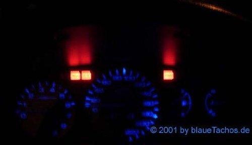 Preisvergleich Produktbild Tachoumbau Honda Civic Tachoumbau Tachobeleuchtung