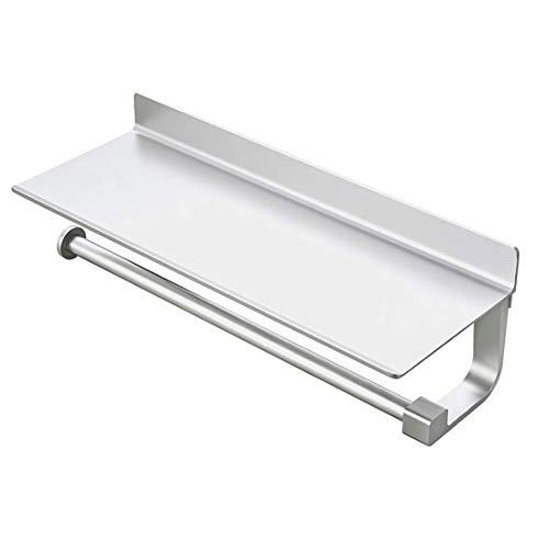 YTCWR Wandrollenhalter für Badezimmer, Küche, kein Bohren, Küchenrollenhalter