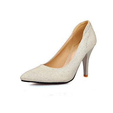 Moda Donna Sandali Sexy donna tacchi Primavera / Estate / Autunno Comfort Glitter Wedding / Party & Sera / Casual Stiletto Heel scintillanti Glitter / Slip-onBlue / Pink