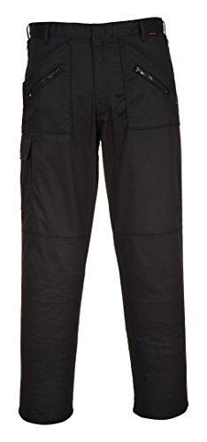 Price comparison product image Portwest S887 Action Trousers,  Black,  Size 36W x 36L