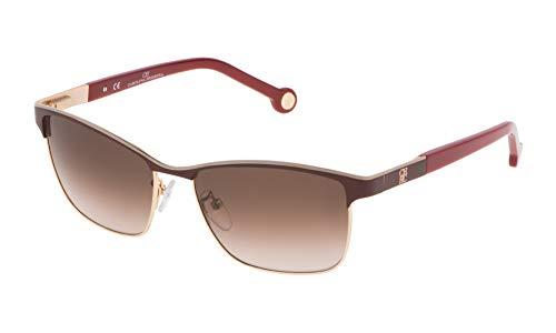 Carolina Herrera Damen SHE069560484 Sonnenbrille, Violett (Morado), 56