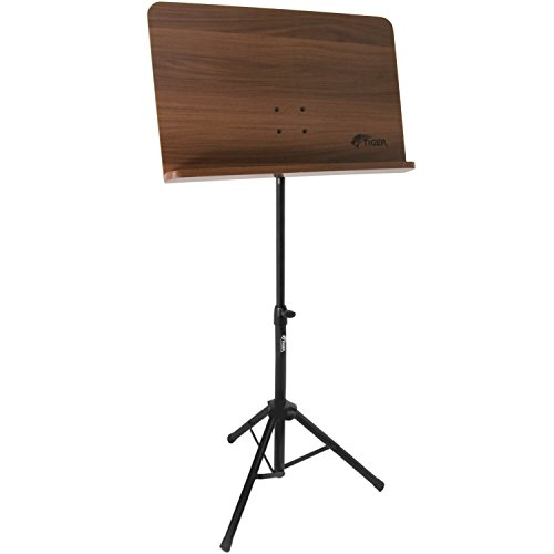 Tiger Wooden Top Orchestral Music Stand and Bag Pack