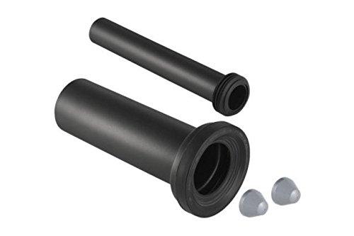 Geberit 152441461 PE Anschlussgarnitur Länge ohne Muffe 145 mm ø 90 mm, L 300 mm