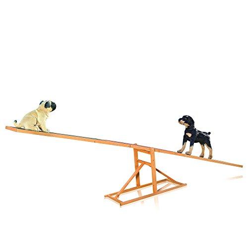 Hunde Agility Wippe Hundewippe Agility Gerät für Hunde Hundesport 3 m