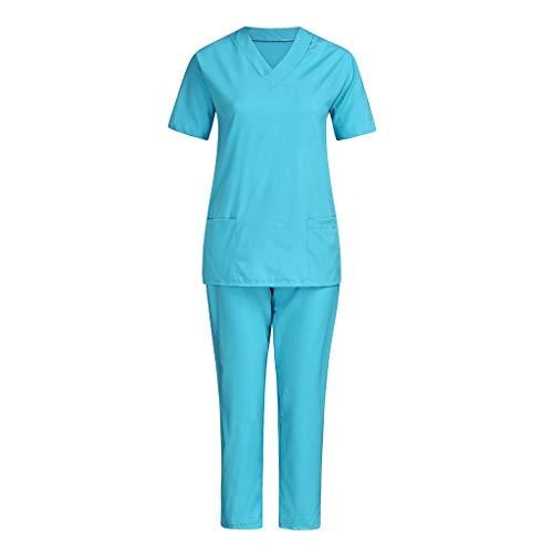 BOBOLover Conjunto De Trabajo De EnfermeríA Pantalones