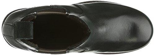 Bisgaard Stiefel mit Tex/Wolle Unisex-Kinder Chelsea Boots Schwarz (50 Black)