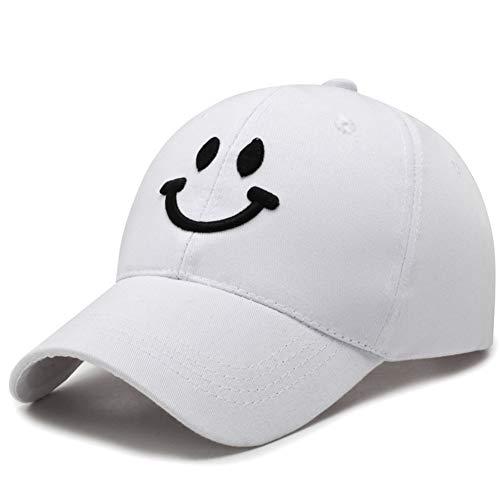 y-Baseballmütze Herrenmode Lässig Sportmütze Outdoor Sonnenschirm Visier Damen Baumwollmütze Trend Hip Hop Cap (Weiß) ()