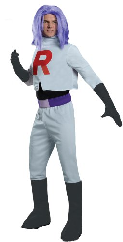 (Pokmon James Team Rocket Costume Adult One Size Fits Most)