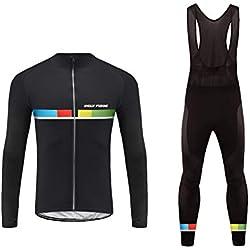 Uglyfrog bicicleta desgaste bicicleta clothing homem mtb ciclismo terno mangas compridas maillot + calça ciclista roupa, tamanho xs-xxxxl