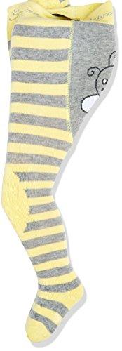 Sterntaler Baby-Mädchen Strumpfhose Krabbelstrumpfhose Biene, Gelb (Sonne 146), 86